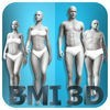BMI 3D Pro (Body Mass Index Rechner) アイコン