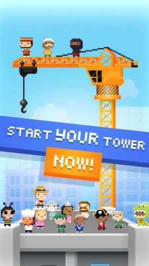 tiny tower free city building iphone androidスマホアプリ