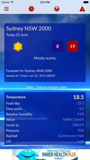 sky news weather iphone androidスマホアプリ ドットアップス apps