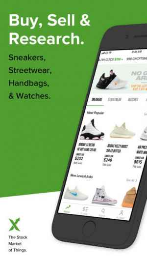 5a990869 StockX - Buy & Sell Authentic | iPhone/Androidスマホアプリ - ドット ...